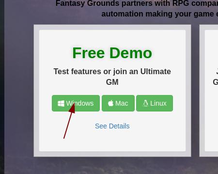 Download des Windows Client